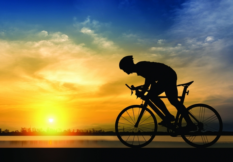 Image of a cyclist