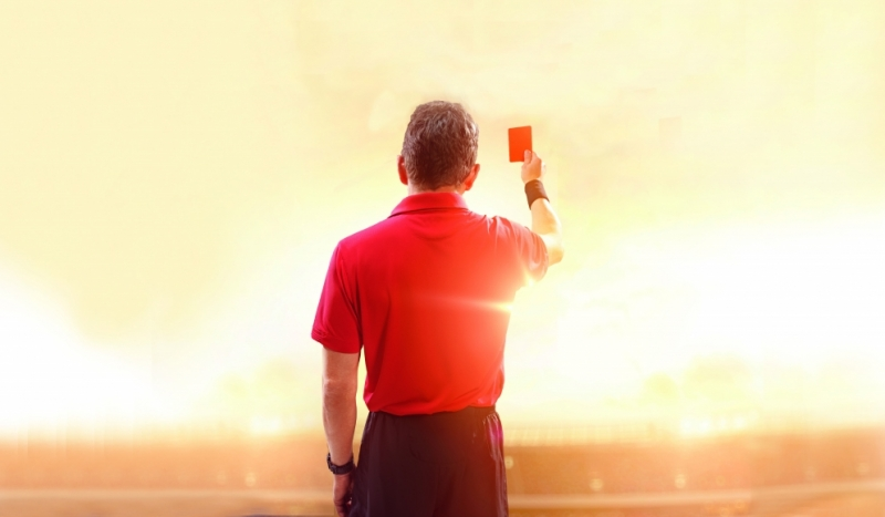Red card – Appeal process