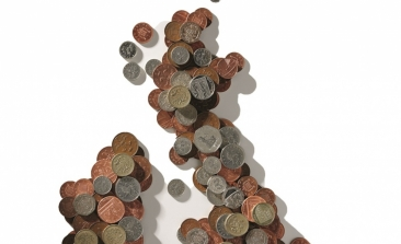 money map of the UK