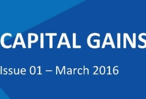 Capital Gains Tax Voice, Issue 1