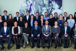 The finalists of the Young Tax Professional of the Year competition, 2015