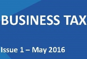 Business Tax Voice – Issue 1, May 2016