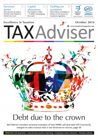 Tax Adviser magazine, October 2016